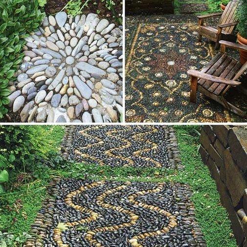 Outdoor Rock Rugs