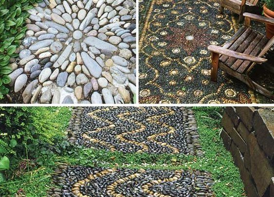 Outdoor Rock Rugs