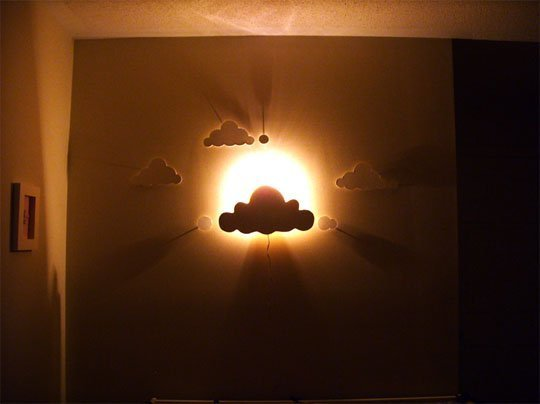 Cloud Wall Night Light