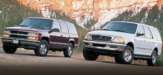 Chevrolet Tahoe LT vs  Ford Expedition XLT | Motor Trend