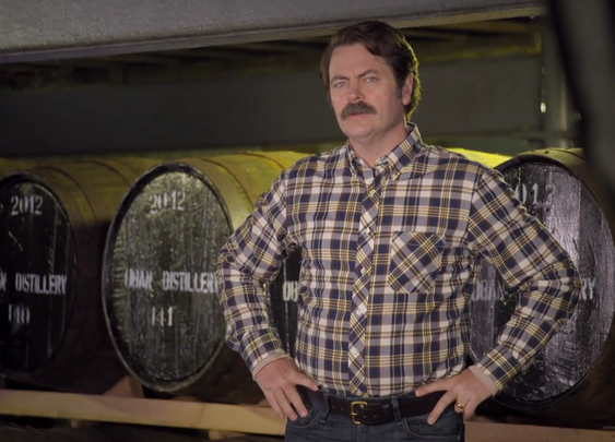 Nick Offerman Tales of Whisky