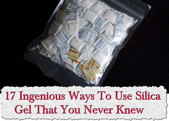 17 Ingenious Ways To Use Silica Gel That You Never Knew - LivingGreenAndFrugally.com