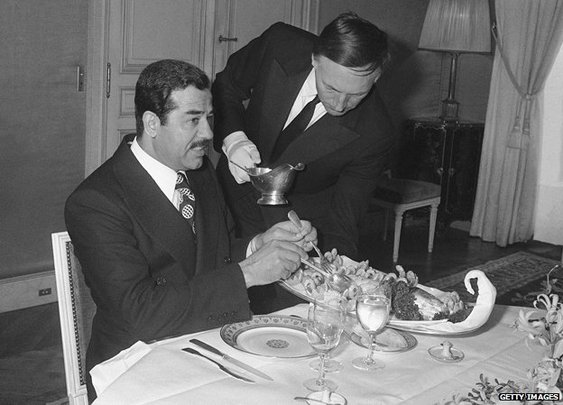 What do dictators like to eat?