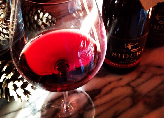 Oregon Advent: Day 6 Siduri Chehalem Mountains Pinot Noir 2012