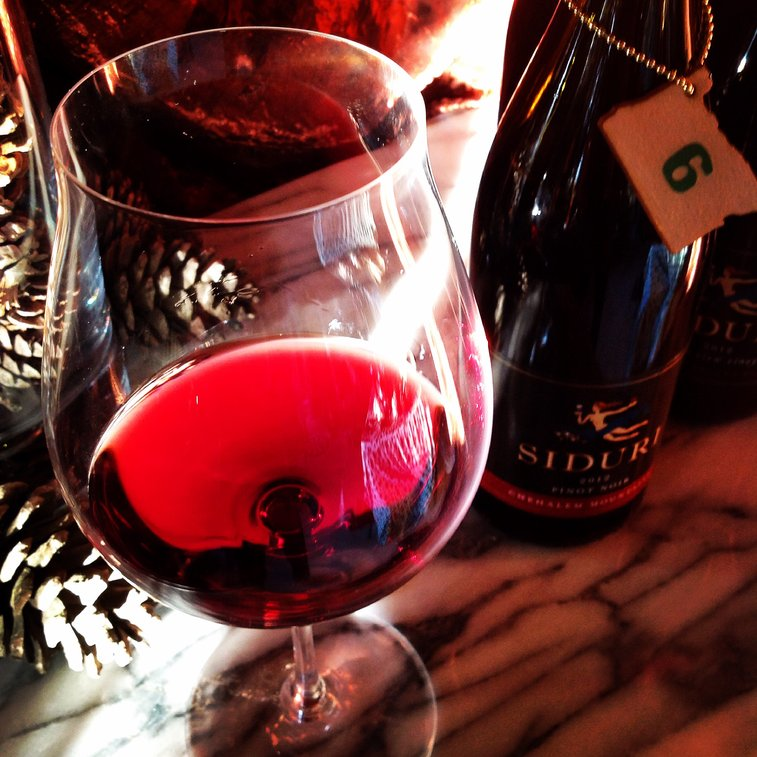Oregon Advent: Day 6 Siduri Chehalem Mountains Pinot Noir 2012