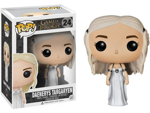 Game of Thrones Daenerys Targaryen in Wedding Dress Funko POP! Vinyl Figure - Whimsical & Unique Gift Ideas for the Coolest Gift Givers