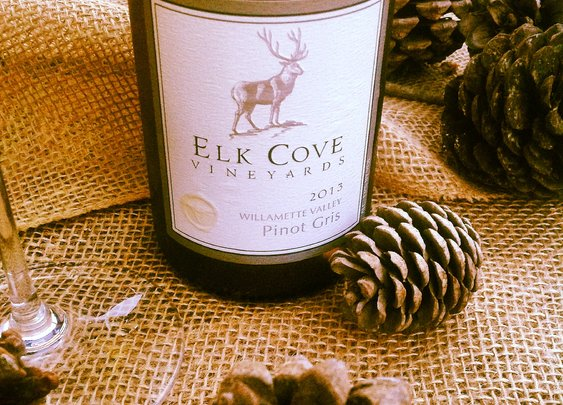 Oregon Advent: Day 7: Elk Cove Vineyards Willamette Valley Pinot Gris 2013.