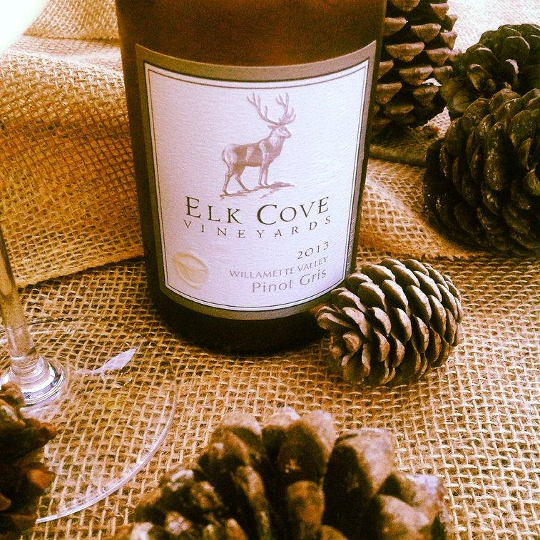 Oregon Advent: Day 7: Elk Cove Vineyards Willamette Valley Pinot Gris 2013.