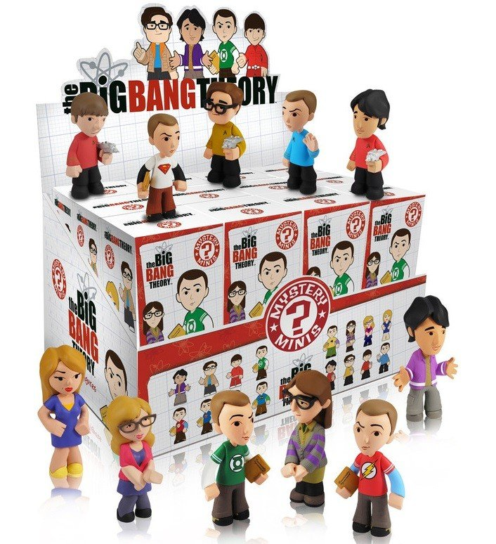 The Big Bang Theory Mystery Minis Blind Box - Surprise Character Inside by Funko