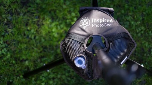 WaterWeight stabilizes your camera gear using water