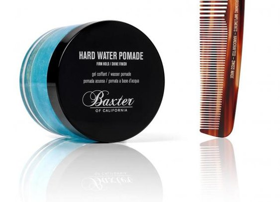 Baxter of California - Pomade and comb
