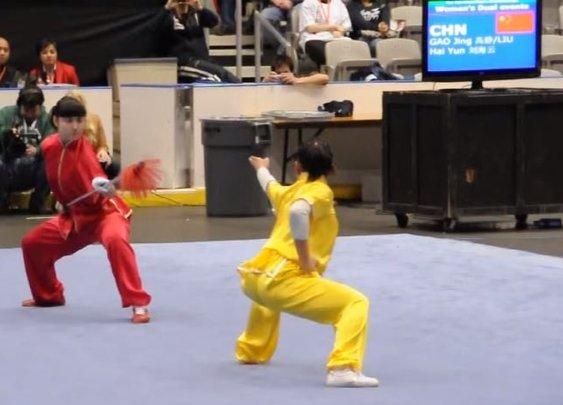 Watch Two Female Martial Artists Go Full-On Beast Mode