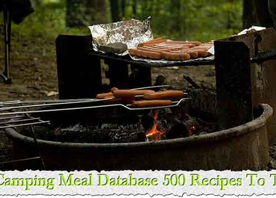 Camping Meal Database 500 Recipes To Try - LivingGreenAndFrugally.com