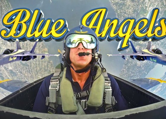 Inside the Cockpit with the Navy's Blue Angels