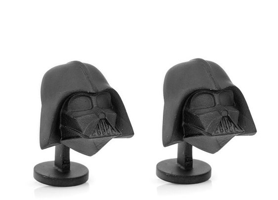 3-D Darth Vader Cuff Links - The Groomsmen Gift