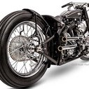 Brougham. Best Modified Harley-Davidson At 2014 AMD World Championship Of Bike Building | Cyril Huze Post