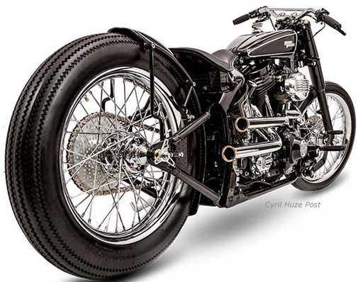 Brougham. Best Modified Harley-Davidson At 2014 AMD World Championship Of Bike Building | Cyril Huze Post