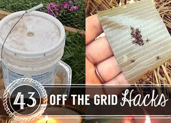 43 Off the Grid Hacks - Lil Moo Creations