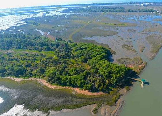 Long Island, A Non-Developed, 4,600-Acre Private Island in South Carolina Listed For Sale At 29 Million