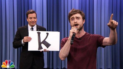 "Daniel Radcliffe Raps Blackalicious' ""Alphabet Aerobics"" - YouTube"