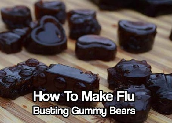 How To Make Flu Busting Gummy Bears - SHTF & Prepping Central