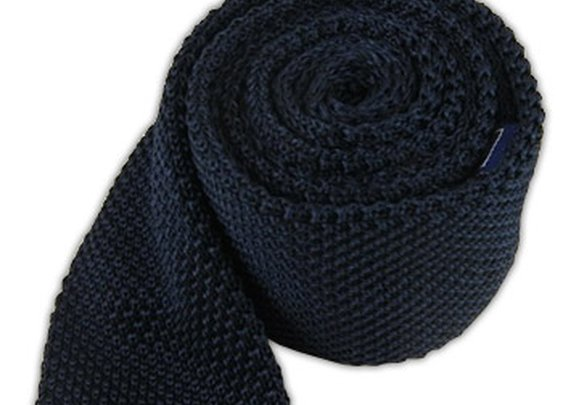 Knitted - Midnight Navy | Ties, Bow Ties, and Pocket Squares | The Tie Bar