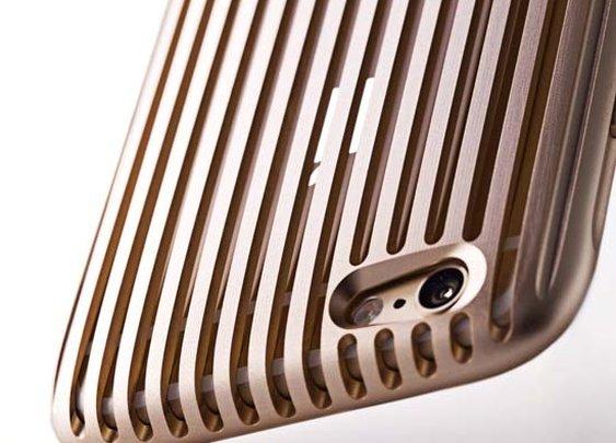 Beautiful iPhone 6 Aluminum Cases by Squair