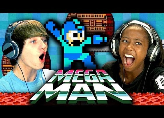 Mega Man (NES) (Teens React: Retro Gaming) - YouTube