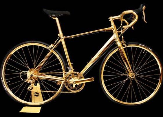 Goldgenie Unveils 24-Karat Gold Bicycle