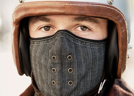 Motorcycle Neck Warmer Mask By Sankakel - Men's Gear