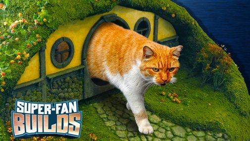 LOTR Litter Box & Cat Scratching Post (Lord of the Rings) - SUPER-FAN BUILDS - YouTube