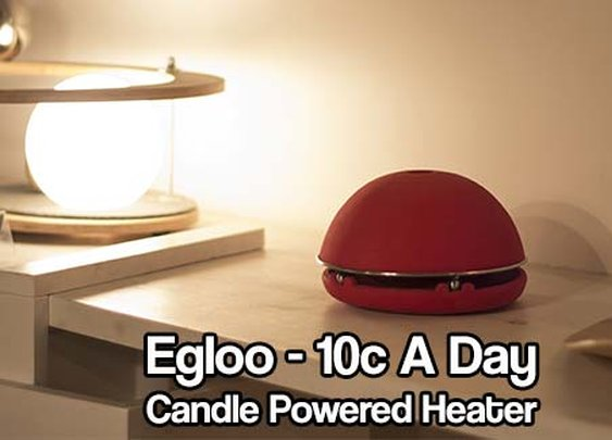 Egloo - Candle Powered Heater - SHTF & Prepping Central