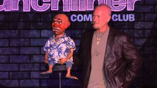 Freaky funny moments in a comedy club, dudes
