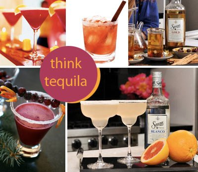 Tequila Cocktails for the Holiday parties