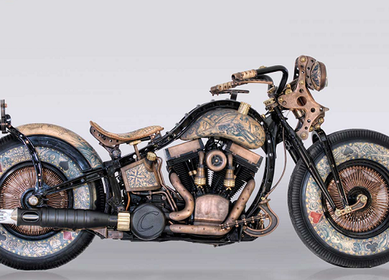The Recidivist Tattooed Motorcycle - Men's Gear