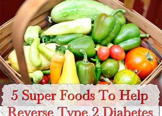 5 Super Foods To Help Reverse Type 2 Diabetes