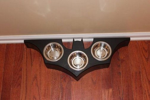 Bat Symbol Food Dish