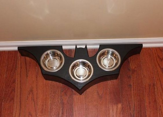 Bat Symbol Food Dish