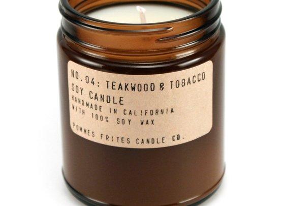 Teakwood & Tobacco Candle — P.F. Candle Co.