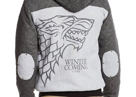Winter is Coming Game of Thrones Hoodie - Fancy Material