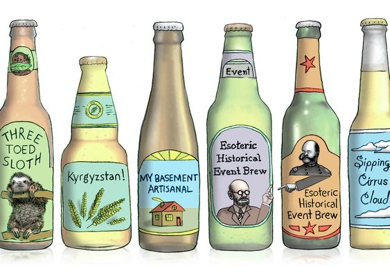 Craft Brewers Are Running Out Of Names, And Into Legal Spats : The Salt : NPR