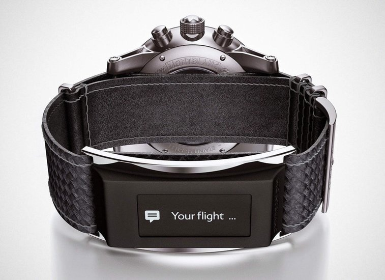 Montblanc is Making the Perfect Smart Watch Band Strap - Supercompressor.com