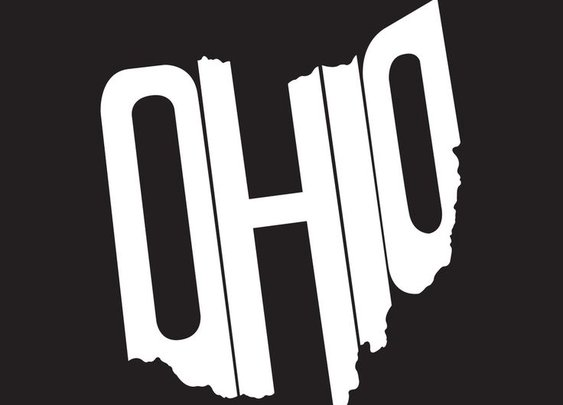 Ohio decal from The Stately Shirt Company