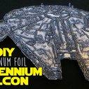 DIY Aluminum Foil Millennium Falcon