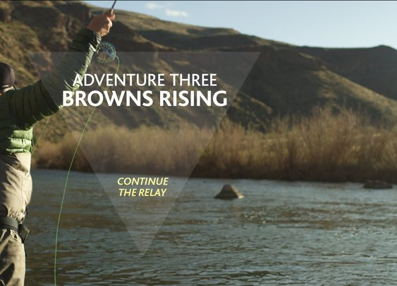 """Browns Rising"" Fly Fishing with BFGoodrich Tires. 