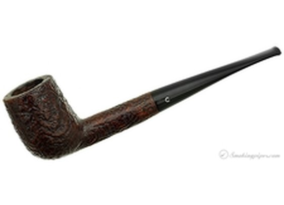 English Estate Comoy's Sandblasted Billiard (28) (pre-1980) Pipes  at Smoking Pipes .com