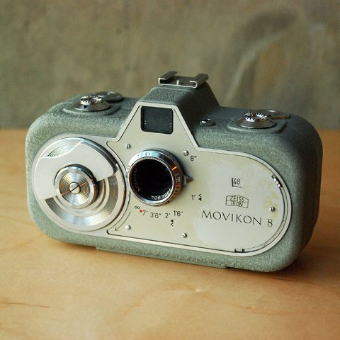 Zeiss Ikon Movikon 8 8mm Movie Camera Leather Case
