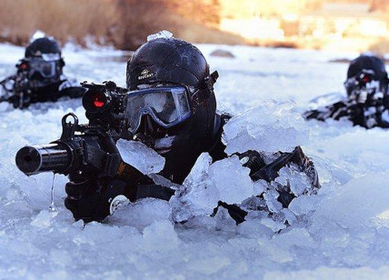 South Korean SEAL Training