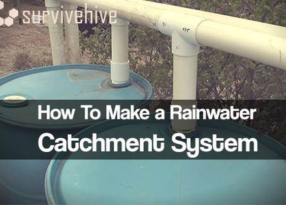 How To Make a Rainwater Catchment System - Survivehive