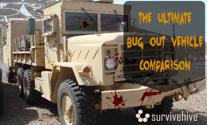 The Ultimate Bug Out Vehicle Comparison - Survivehive